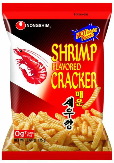 Chipsy Krewetkowe Pikantne 75g Nongshim