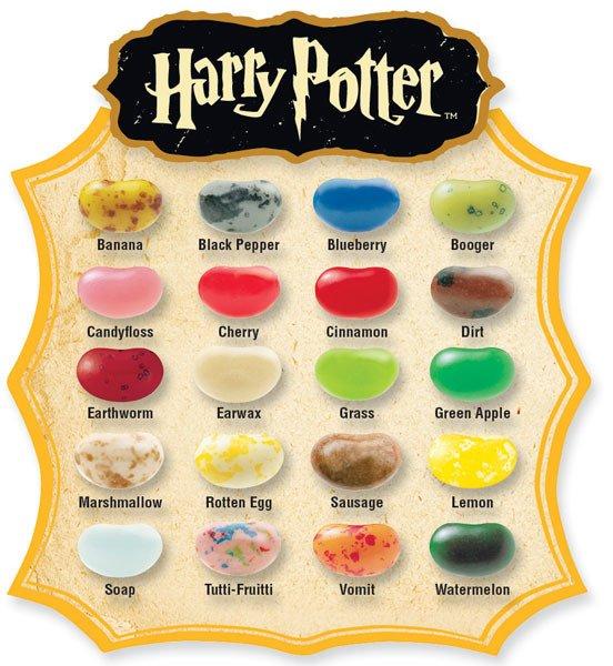 Jelly Belly Harry Potter Fasolki Wszystkich Smakow Bertiego Botta 35g
