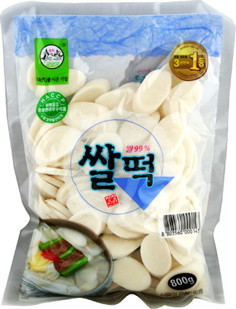 Kluski ryżowe do Tteokbokki 800g - Songhak Food