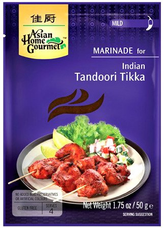 Marynata do indyjskiego Tandoori Tikka 50g - Asian Home Gourmet