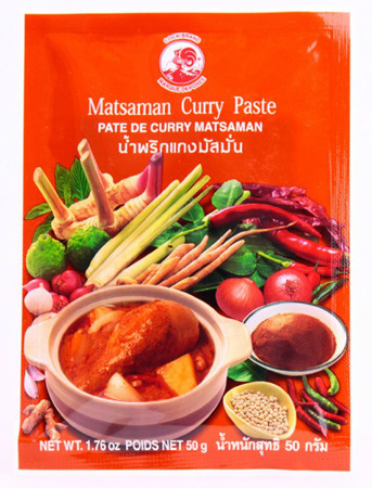 Pasta Curry Massaman 50g