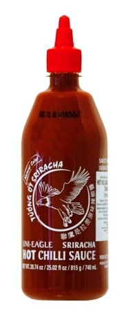Sos chili Sriracha, bardzo ostry (chili 56%) 740ml - Uni-Eagle