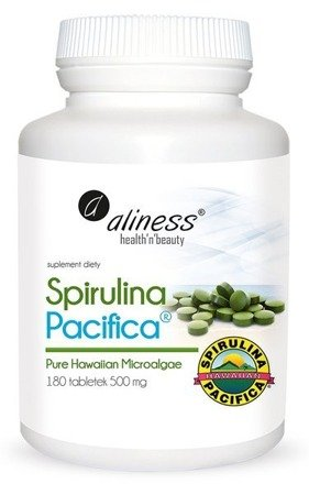 Spirulina Hawajska Pacifica 500mg x 180 tabletek